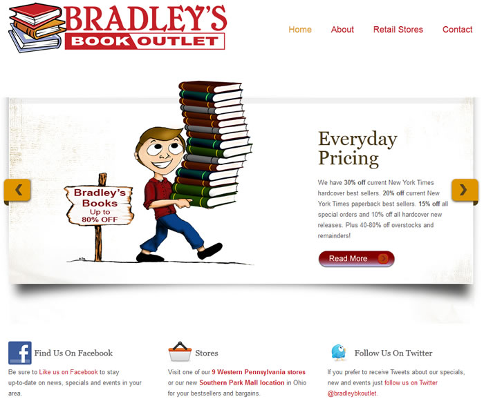 Bradley's Book Outlet portfolio