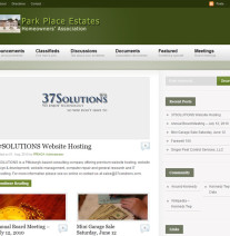 Park Place Estates Homeowners' Association portfolio