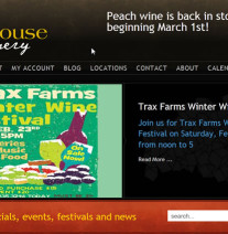 Greenhouse Winery home page