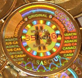 Casascius Bitcoin Coin