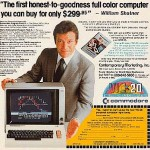 Commodore VIC-20 William Shatner Advertisement